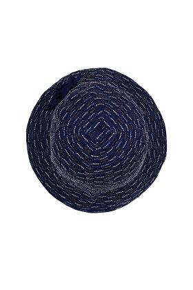 F HOUSE - Foldbar Hat Blå