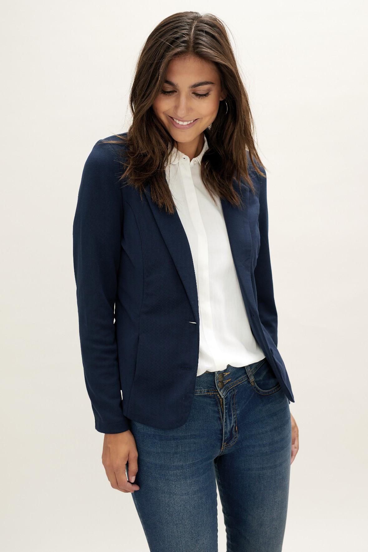 Soya Concept Daniela 1 blazer jakke i mørkeblå til damer