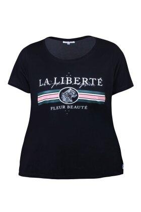 ZHENZI - Coburn 820 T-shirt Sort