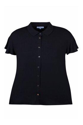 ZHENZI - Deniro 838 Skjorte T-shirt Sort