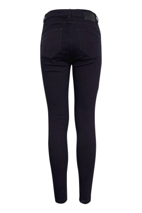 PULZ - Liva Ultra Skinny Jeans Sort