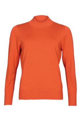 MICHA - Turtleneck Strik Orange