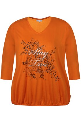 ZHENZI - Ayoe T-shirt Orange