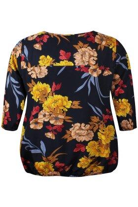 ZHENZI - Lommer Bluse Sort
