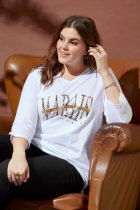 ZHENZI - Coburn T-shirt Hvid