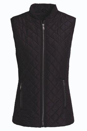 BRANDTEX - Quiltet Vest Sort