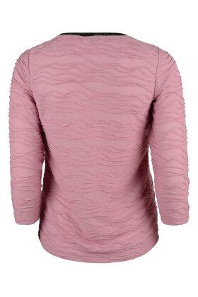 MICHA - T-shirt 3/4 Ærme Gl. Rosa