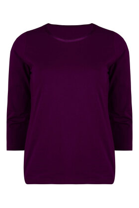 MICHA - Basis T-shirt 3/4 Ærme Lilla