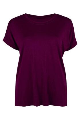 SOYACONCEPT - Marica Lyocell T-shirt Aubergine