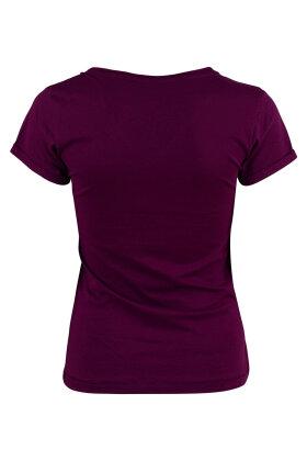 SOYACONCEPT - Valencia T-shirt Aubergine