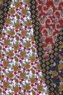 GERRY WEBER - Tørklæde Sort Med Print Inspiring Fall