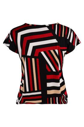 SOYACONCEPT - Marica T-shirt Lyocell Bordeaux