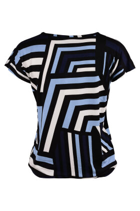 SOYACONCEPT - Marica T-shirt Lyocell Lyseblå