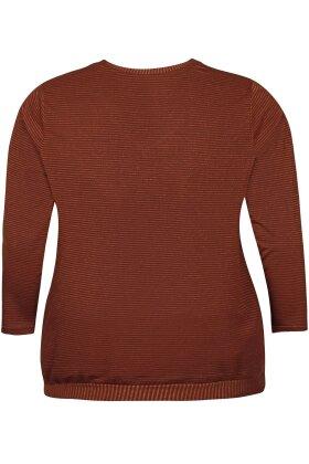 ZHENZI - Edel Bluse Rust