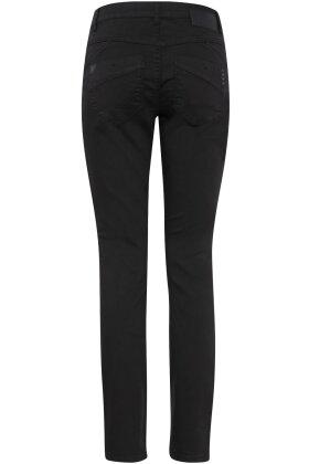 PULZ - Carmen Highwaist Skinny Jeans Sort