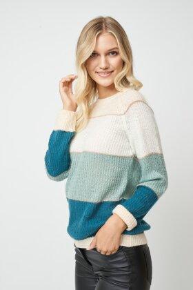 SOYACONCEPT - Celika Strikket Pullover Grøn