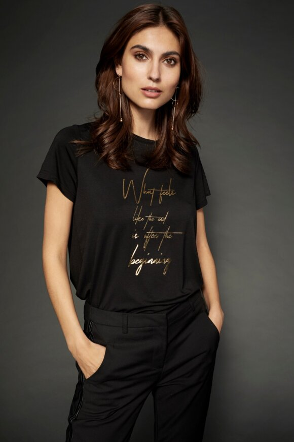 SOYACONCEPT - Naima Premium Sort T-shirt