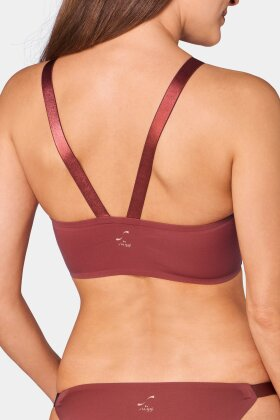 SLOGGI - Substance S Bralette Top Rust