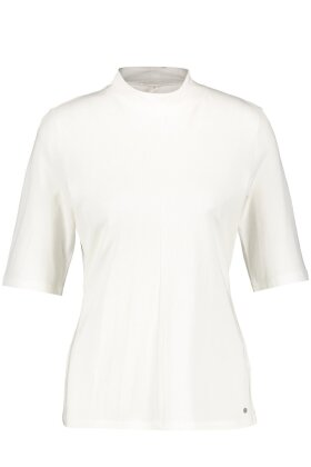 GERRY WEBER - Turtleneck T-shirt Casual Off White