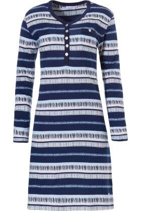 PASTUNETTE - Natkjole - Natskjorte Mørkeblå