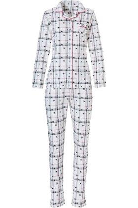 REBELLE - Pyjamas Stjerner Hvid