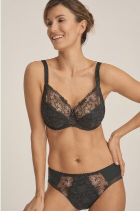 PRIMADONNA - Wild Flower Full Cup Wire Bra Sort