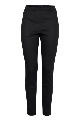 PULZ - Noho Leggings Matsort Skind Look