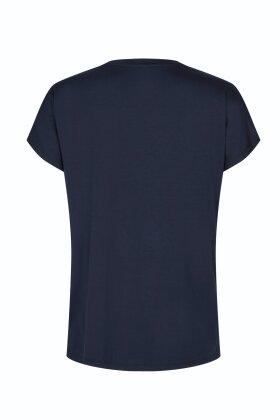 SOYACONCEPT - Marica 32 Basis T-shirt - Mørkeblå - Lyocell