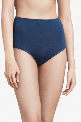 FEMILET - Juliana High Brief Merino Uld - Maxi - Blå