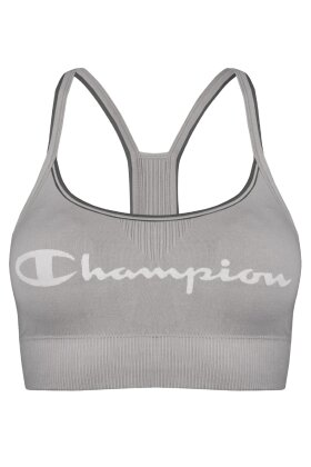 CHAMPION - Signature Seamless Crop Top - Grå