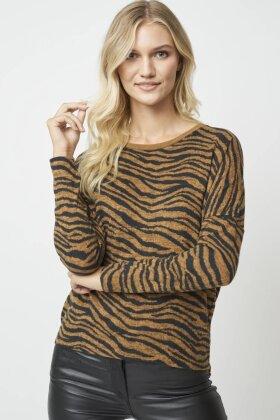SOYACONCEPT - Sc Biara Zebra Bluse - Carry
