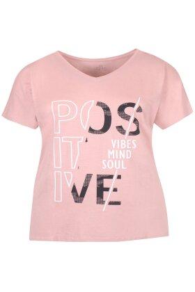 ZHENZI - Elea Fitness T-shirt - Gl. Rosa