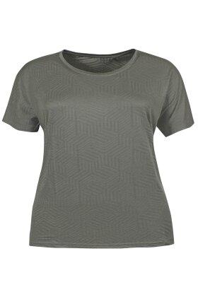 ZHENZI - Eryx Sport og Fitness T-shirt - Army Grøn