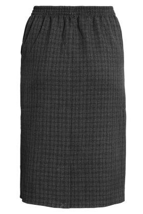 BRANDTEX - Nederdel - Ternet Mørkegrå