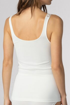MEY - Emotion Elegance Top med Blonde Offwhite