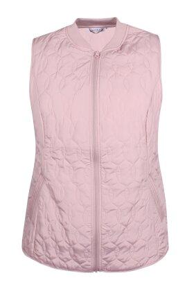 ZHENZI - Soma Quiltet Vest - Rosa
