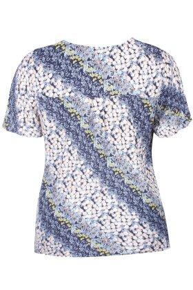 ZHENZI - Miro T-shirt - Mørkeblå