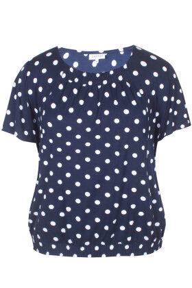 ZHENZI - Hats Prikket T-shirt - Mørkeblå