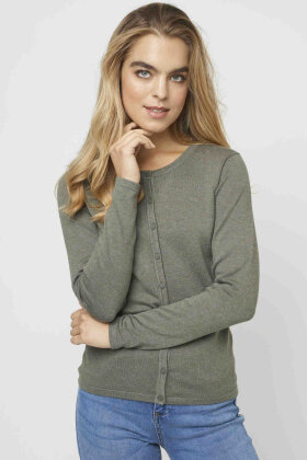 SOYACONCEPT - Dollie Strik Cardigan - Army Grøn