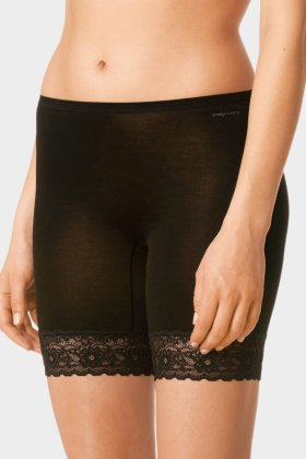 MEY - Bomuld Leggins Blonde - Sort