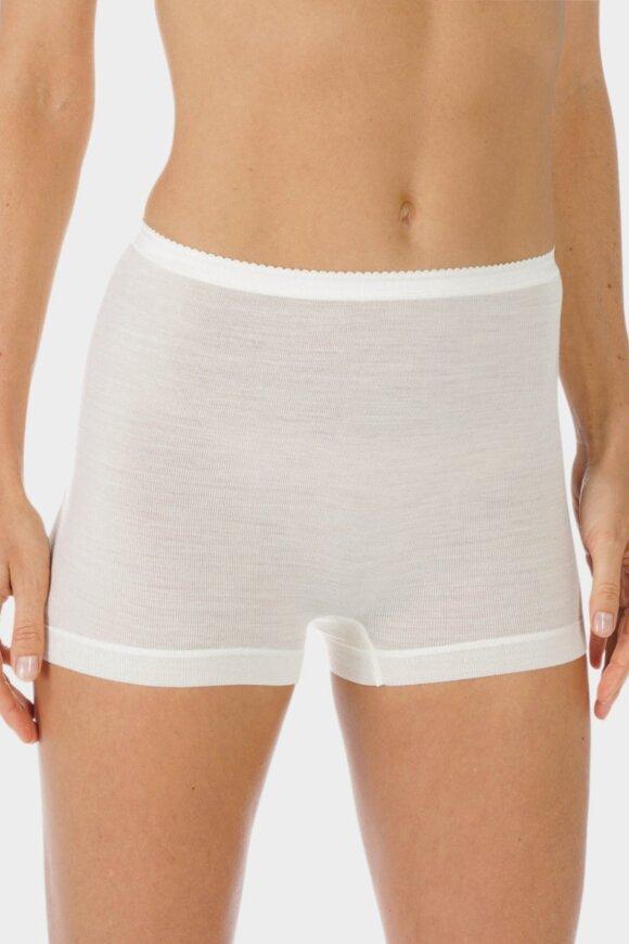 MEY - Exquisite Shorts Trusser - Silke & Merino - Off White