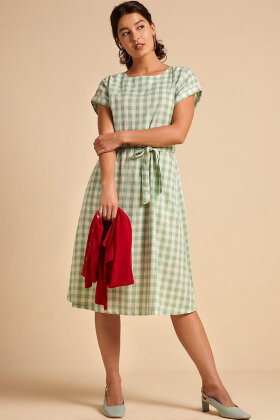 KING LOUIE - Betty Dress Loose Fit Legend - Island Green - Mint