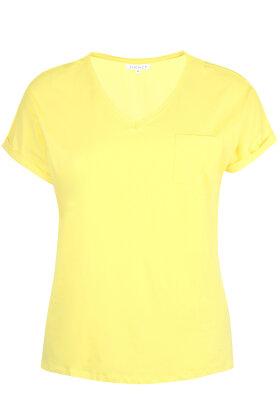 ZHENZI - Alberta T-shirt - Gul