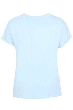 ZHENZI - Alberta T-shirt - Lyseblå