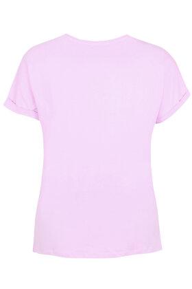 ZHENZI - Alberta T-shirt - Lyselilla