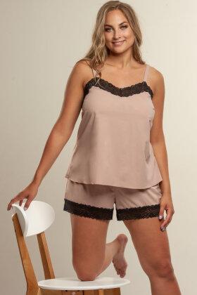 PLAISIR - Boselli Renaissance Blonde Camisole - Gl. Rosa