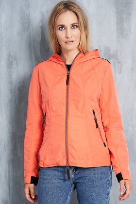 JUNGE - Sporty Let Jakke - Orange