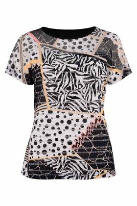BASSINI - Festlig T-shirt - Sort