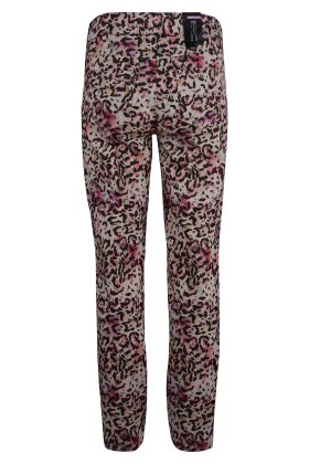 ROBELL - Nena - Super Slim Fit - Multiprint - Sand