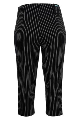 ROBELL - Marie Stumpebuks - Elastisk - Slim Fit - Sort